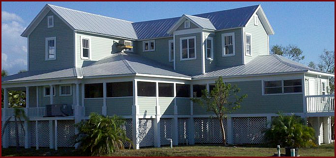 House painted in Sarasota FL by the proffessional house painters in Sarasota FL TSI of Manatee, INC